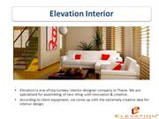 Top Interior designer in Mumbai - Elevation Interior