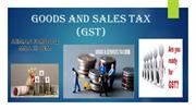 GOODS AND SALES TAX (GST)