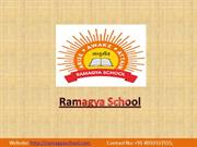 Ramagya School – Admissions Open for 2018-19, All Classes