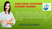 Juno email customer support number 1-800-542-0248