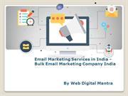 Email Marketing Services in India - Bulk Email Marketing Company India
