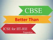 Which board is better? For IIT-JEE Preparation