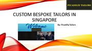 Custom Bespoke Tailors in Singapore