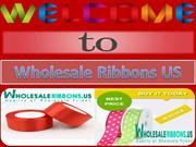 Buy High Quality Fabric Ribbons Online At Wholesale Prices