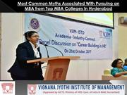 Most Common Myths Associated With Pursuing an MBA from Top MBA College