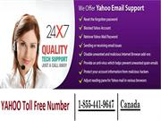 Contact Yahoo Helpline toll-free Number 1-855-441 (9647) | Canada