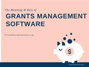 Get Grants Management Software To Speed Up Your Workflow
