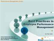 Best Practices in Performance Mgt Preview