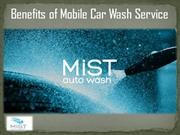 Benefits of Mobile Car Wash