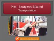 Get to know - What is Non Emergency Medical Transportation Service?