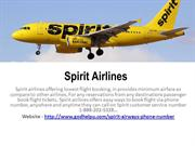 Spirit Customer Service Phone Number 1-888-202-5328
