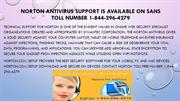 Norton Antivirus Support is Available on sans toll help