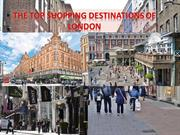 The Top Shopping Destinations Of London