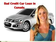 Bad Credit Car Loan in Canada