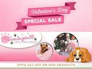 Valentine's day special sale Save 25% on all dog products