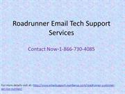 Roadrunner Email Tech Support 1-866-730-4085 Number