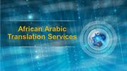 African Arabic translation services