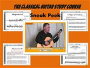 Classical Guitar Study Course Sneak-Peek