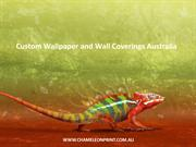 Custom Wallpaper and Wall Coverings Australia - Chameleon Print Group