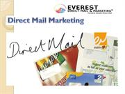 Direct Mail Marketing.