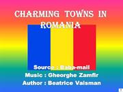 Charming  towns in  Romania
