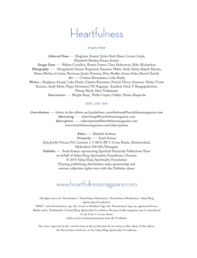 Heartfulness Magazine - February 2018 |authorSTREAM