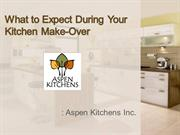 What to Expect During Your Kitchen Make-Over
