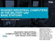 Rugged-Industrial-Computers-in-the-Military-UAV-Base-Stations