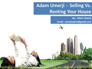 Adam Umerji -Selling vs