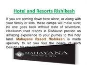 Have you Went in Rishikesh? You Looking Best Hotel and Resort