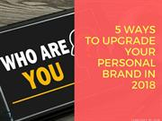 5 Ways to Upgrade Your Personal Brand in 2018 | Newton Consulting