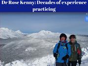 Dr Rose Kenny_ Decades of experience practicing