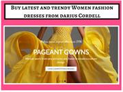 Buy the gorgeous women's dresses from darius Cordell