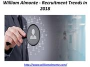 William Almonte - Recruitment Trends in 2018