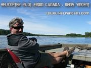 Helicopter Pilot from Canada - Denis Vincent