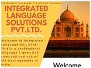 Language Translators Delhi - ILS
