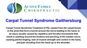 Carpal Tunnel Syndrome Gaithersburg MD