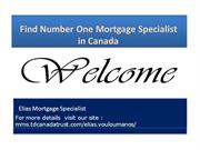 Number One Mortgage Specialist in Canada