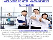Club Management Software India