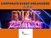 India's Best Corporate Event Organizers - Wizard-events