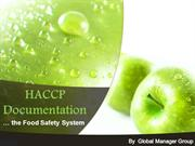 What Documentation Necessary for HACCP?