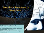 Neck Pain Treatment in Bangalore