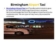Taxi from Birmingham Airport