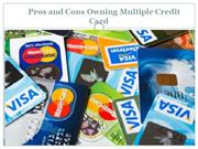 Appstar Financial - Pros and Cons Using Multiple Credit Card