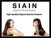 Siain: High Quality Organic Beauty Products Store