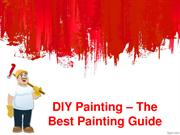 DIY Painting – The Best Painting Guide