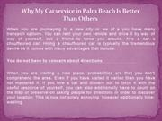 Why My Car service in Palm Beach Is Better Than Others