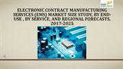 Electronic Contract Manufacturing Services (EMS) Market Size Study, By