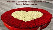 Valentines Day Gifts delivery in UAE via flowerdeliveryuae.ae