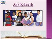 Preparation of NIFT Entrance Exams - Ace Edutech in Ahmedabad